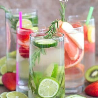 Easy to make summer cleansing drinks