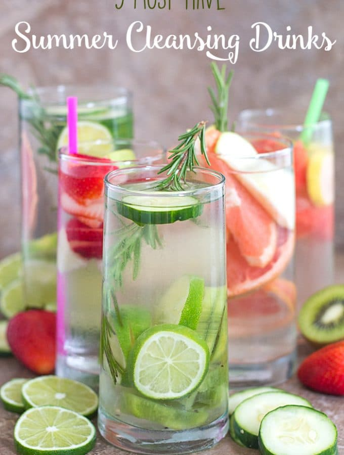 5 Must Have Summer Cleansing Drinks