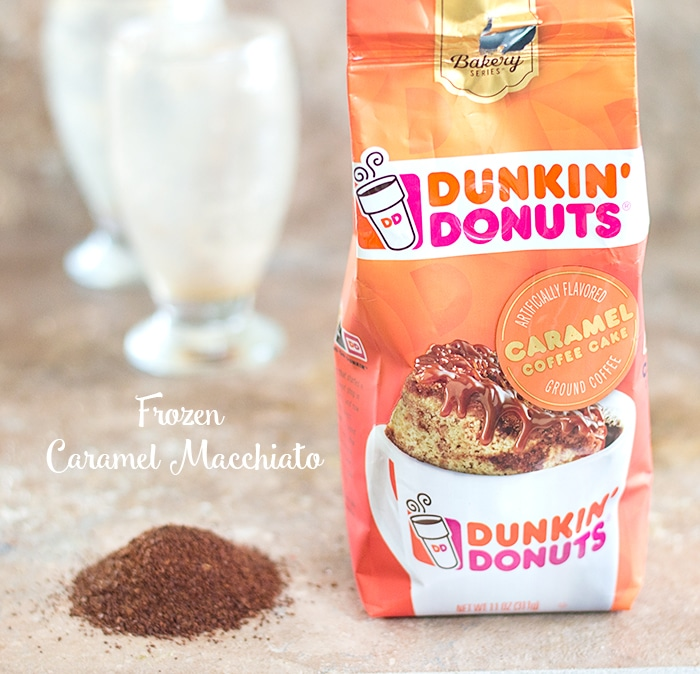 Dunkin Donuts Caramel Cake Coffee Grounds