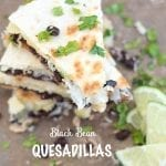 Black Bean Quesadillas With Rice
