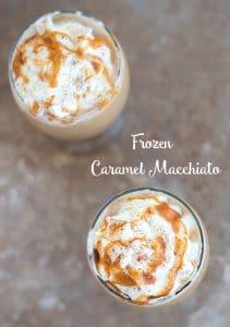 DIY Make your own Frozen Caramel Macchiato