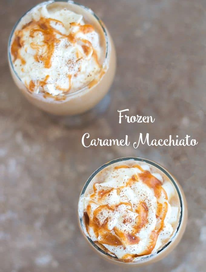 Frozen Caramel Macchiato Recipe