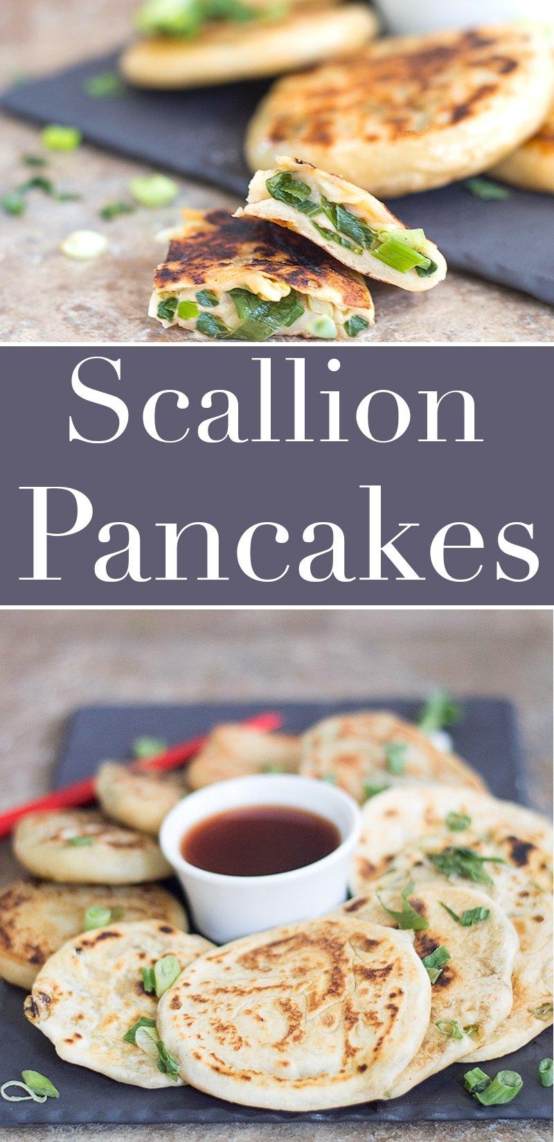With only a few ingredients, you can make this soft and easy Scallion Pancakes for breakfast or brunch. The secret to these soft pancakes is yogurt
