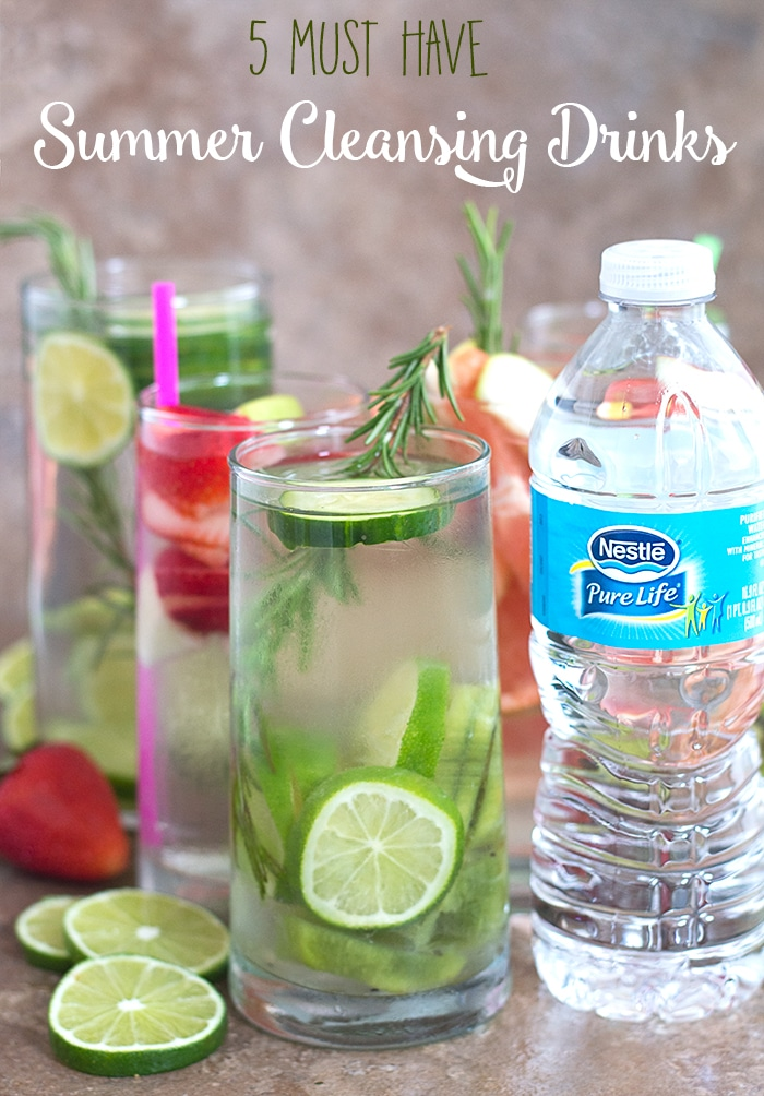 You need these summer cleansing drinks!