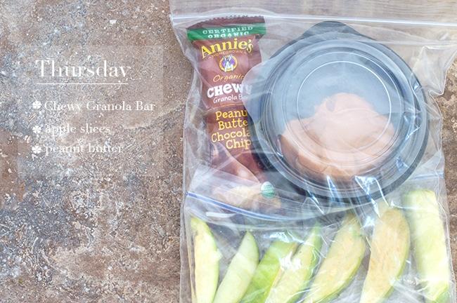 Easy Snack Prep For Thursday