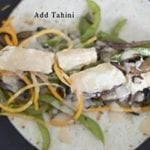 Top Souvlaki with Tahini