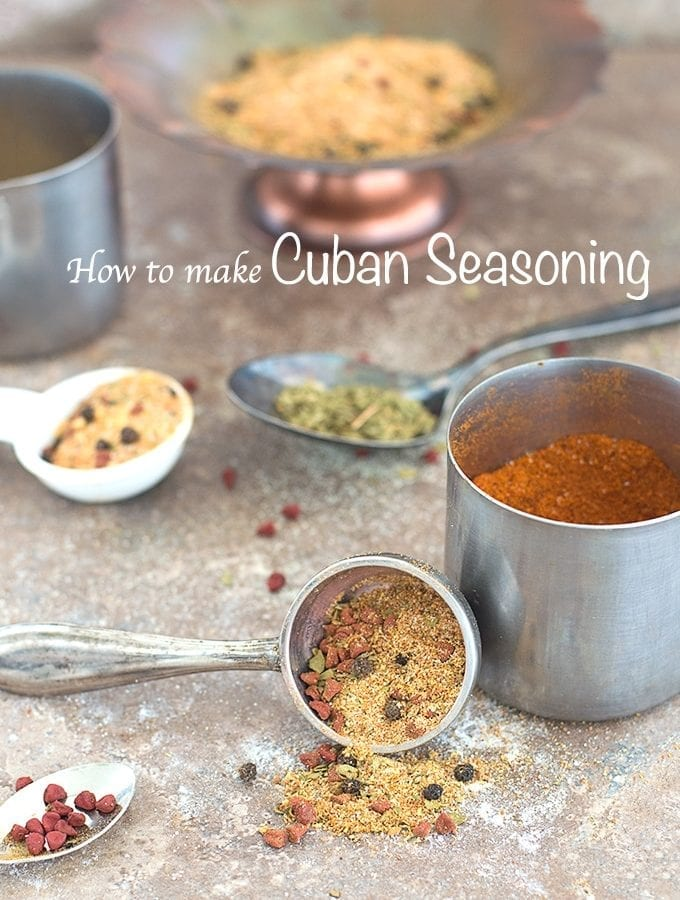 Homemade Cuban Seasoning