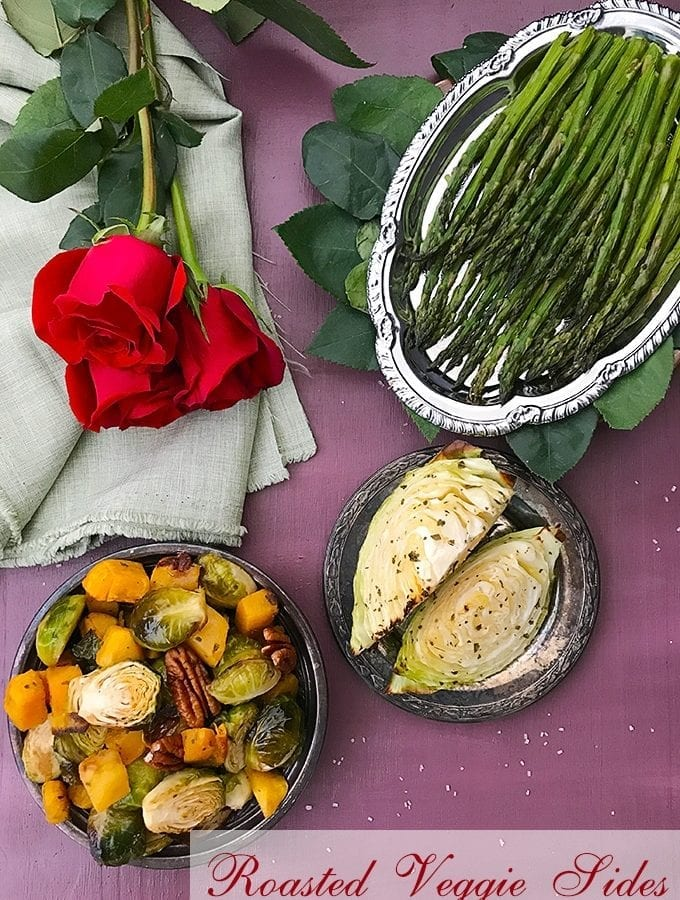 Roasted Vegetables with Rose Water