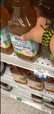 Welch's Coconut Water In Publix - Don't Hate Coconut Water