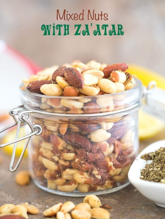 Mixed Nuts with Za'atar Spice
