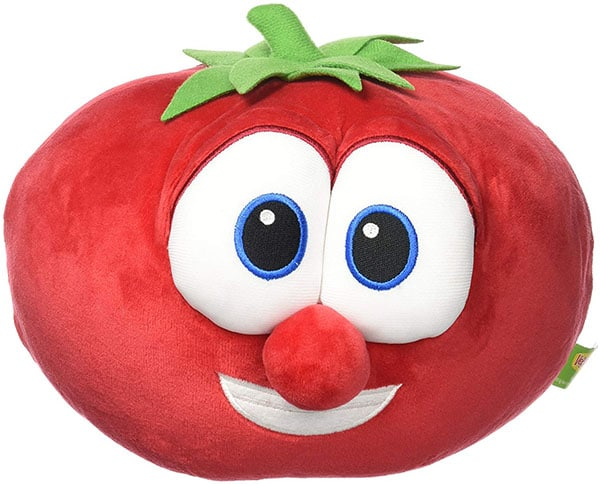 A polyester plush tomato toy - 10 Gag Gifts to Give Tomato Lovers