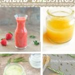 Collage of 4 dressings