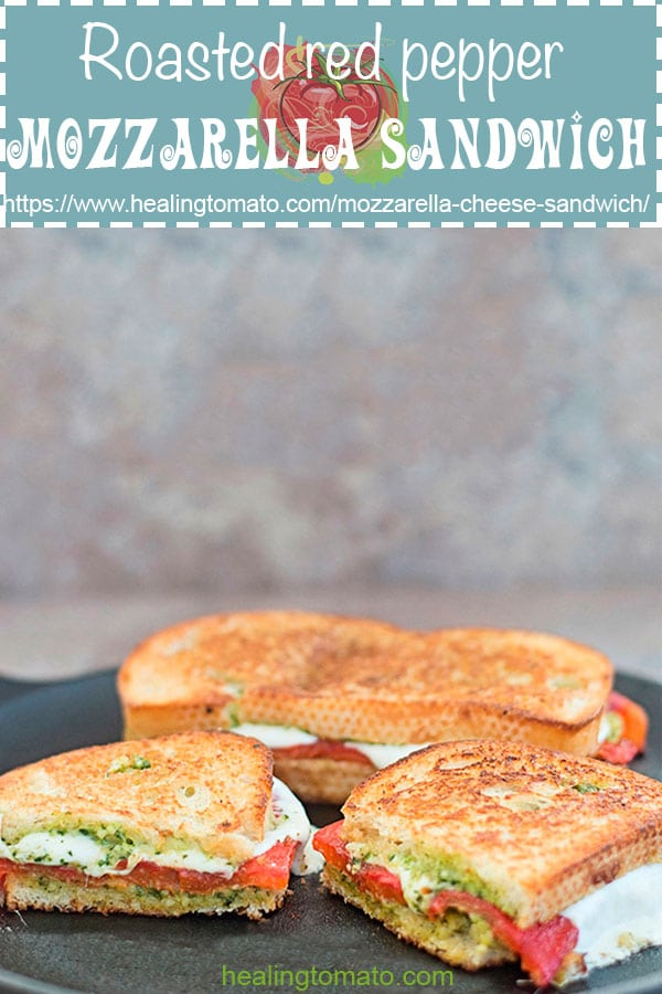 Mozzarella Cheese Sandwich With Pesto Healing Tomato Recipes