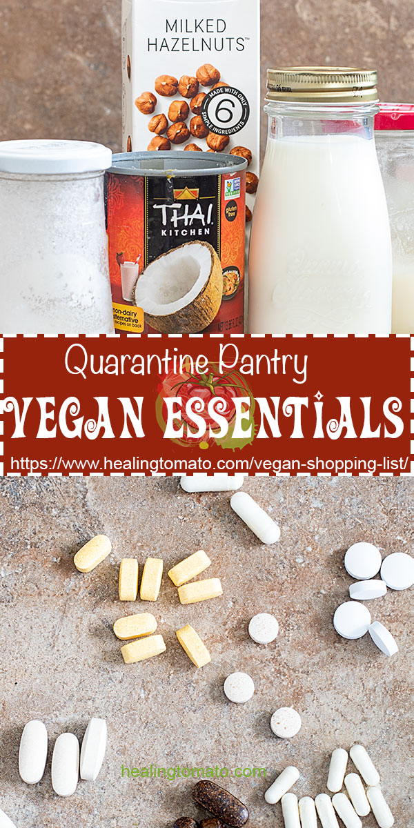 The absolute vegan essentials you must stock pile during this corona virus phase #healingtomato #vegan #essentials #covid19 #coronavirus #pantry @healingtomato