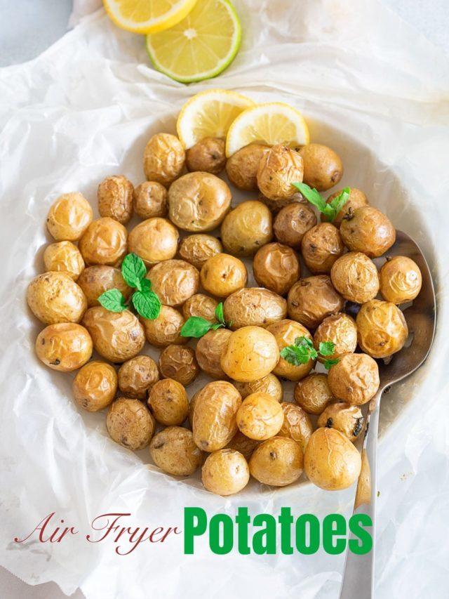 Air Fryer Potato Nibbles